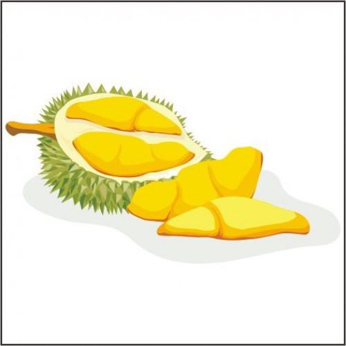 Toffieco Durian dan Pewarna