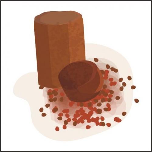Toffieco Gula Merah dan Pewarn