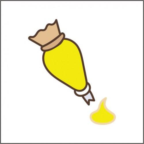 Toffieco Pewarna Kuning Terang