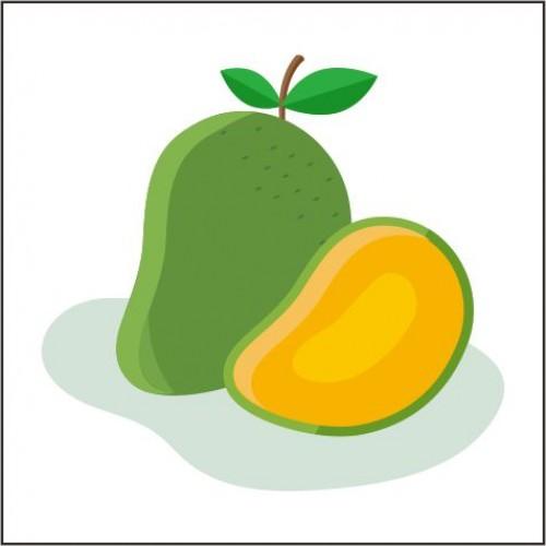 Toffieco Mangga dan Pewarna
