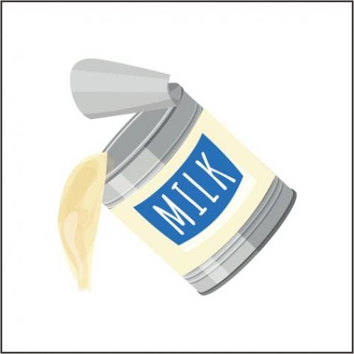 Toffieco Susu Kental dan Pewarna